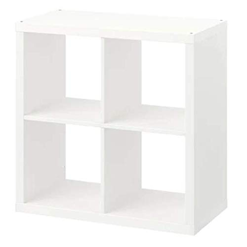 IKEA KALLAX Regal in weiss; (77x77cm)